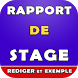 rapport de stage (comment faire un rapport) by brahimdev91