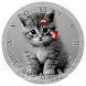 Kitty Clock Widget by Amazing BuPepa World
