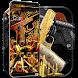 Gun Theme Gold AK47 SMG Pistol by iThemeMaster