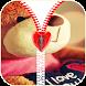 Teddy Bear Zipper Lock Screen by Ak SuperAlpha Top Apps