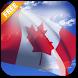 3D Canada Flag Live Wallpaper by App4Joy
