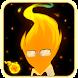 Grillby Fireball by Yonyon
