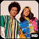 Bruno Mars and Cardi B LIVE Wallpaper HD