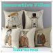 Decorative pillow design by karisma