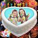 Name on birthday cake: photo frame by Masha Apps Studio