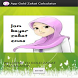 Gold Zakat Calculator by Zakira Tatiuc