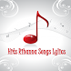Hits Diamonds Rihanna Songs by The Music Lyric Hot and Hits Free for mobile