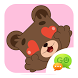 (FREE) GOSMS VALENTINE STICKER by ZT.art