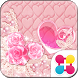 Cute Theme Lovely Pink Hearts by +HOME by Ateam