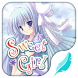 Sweet girl emoji keyboard by Emoji theme for hitap keyboard