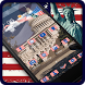 American Flag of USA Launcher by Best Launcher Themes
