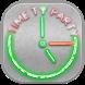 Glowing Neon Clock by Smart Widget Apps