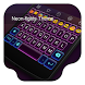 Neon lights -Kitty Keyboard by Kitty Emoji Keyboard Design