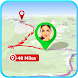 Location Distance Route Finder by Apps24 Studio
