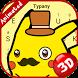 Pocket Monster Theme&Emoji Keyboard by Music Emoji Keyboard Theme