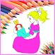 princesse coloring boook by noxicdev