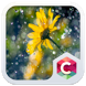 Yellow Flower Clauncher Theme by Best Themes Workshop