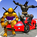 Turtle & Bat Hero Ninja Shadow warrior by Marvellous Games Studio