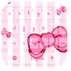 Cute Pink Bow Typewriter by live wallpaper collection