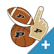 Purdue Boilermakers PLUS Selfie Stickers by 2Thumbz, Inc