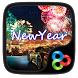 New Year GO Launcher Theme by Lucky Art