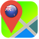 New Zealand Map by Recommend Map for World