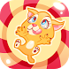 Kitty in Candyland-Jump & Tilt by Mad Quail