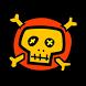 Skull Analog Clock Widget by SCCAL