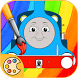 Colorear para Thomas trenes y sus amigos by Learning English Games for kids