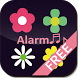 [FREE]Flower Flow! Clock LWP! by choppydays