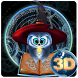 Cute Magic Owl 3D Theme by Launcher Design