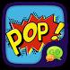 GO SMS PRO POP THEME by ZT.art