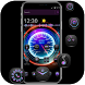 Cool Purple Dashboard Theme & Lock Screen by Theme and keyboard design team