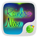 Rainbow Neon GO Keyboard Theme by GOMO Dev Team