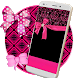 Pink Glitter Bow Live Wallpaper