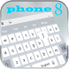 Phone8 Keyboard Theme by NYC Beauty Themes