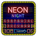 Neon Night Party Keyboard Theme by Creative Theme Designer