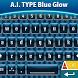 A.I. Type Blue Glow א by Themes for A.I. Type