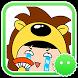 Stickey Super Cute Hedgehog by Awesapp Limited