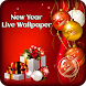 Happy New Year Live Wallpaper 2018 by Prank Media Apps