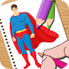 Super Hero Coloring Kids Game by Mickey O. Patterson
