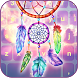 Dreamcatcher Keyboard Colorful Theme by Pink Girly Apps