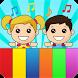 Kids piano app by Kidstatic Apps