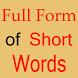 Short Form To Full Form by Alpesh Patel