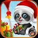 Christmas Panda Lock Screen App