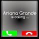 Call from ariana grande Prank by Appsdevv