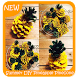 Summer DIY Pineapple Pinecone Ornaments by Super Crafts