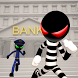Stickman Bank Robbery Escape by GENtertainment Studios