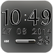 Digi Clock Widget White Star by Maystarwerk Clocks & Themes Vol.1