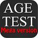 Age test – mega version by Aleksey Gubskiy